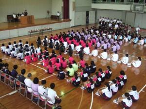 4校開会式