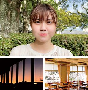 北九州市立大学〈経済学部・経済学科〉髙栁 里央さん(2021年3月卒業)