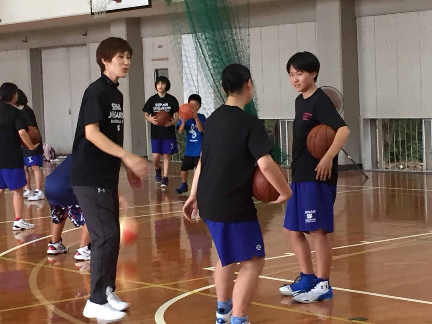 有田コーチの指導